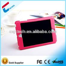 Manufacturer For ipad mini 2 auto sleep wake function case , pu leather double-folded case for ipad mini