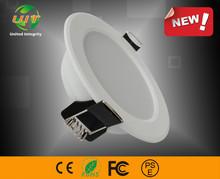 3.5 Inch European standard energy saving embedded led HAT Ceiling Downlight