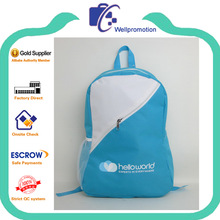 wellpromotion cheap promotional 600d polyester backpack