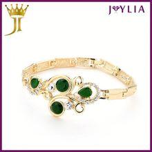 Professional Jewelry Factory Wholesale! Crystal slogan bracelet
