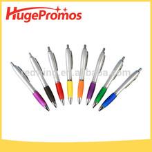 Promotional Coustom Logo Contour Chrome Pen