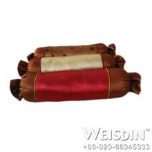 plain hot sale 100% polyester microfiber snoogle body pillow