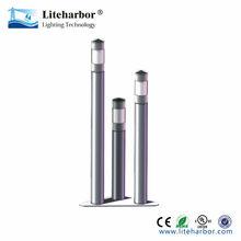 high quality high brightness stainless steel 6W led bollard light