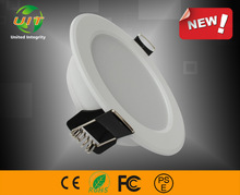 8'' 24W 80-100lm/w aluminum housing $9.8/piece Recessed HAT Ceiling Downlight