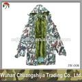 bosques deinvierno de los hombres chaqueta de camuflaje