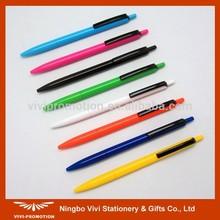 Latest Design Plastic Hotel Pen for Promotion (VBP241)