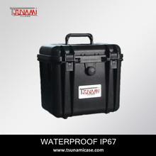 Sealed plastic case(261722) equipment case waterproof camera case for camera telescopic sight
