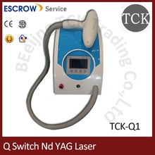 2014 best sale ND YAG Laser tattoo Removal beauty salon equipment alibaba com