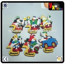 High Quality Custom colorful PVC Fridge magnets & Magnets for fridge