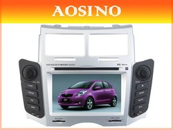 TOYOTA YARIS 2005-2011 2 DIN 7'' Car DVD / Radio with GPS Navigation Built-in Bluetooth RDS