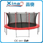 15ft Aldi Commercial Outdoor In Ground Trampoline with Safety Net for Adults for sale