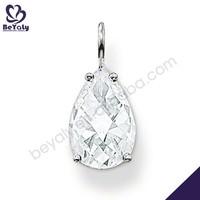 Brilliant silver facets artificial american diamond jewellery