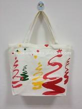 Manufacturer supplier eco-friendly cotton canvas tote bag