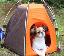 NEW Dog Tent Dogs Canvas Kennel Outdoor Pet military tent Bed