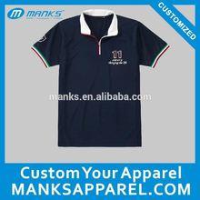 stock or custom made t shirt polo men