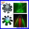 Best selling octopus laser lighting red & green mini laser show projector