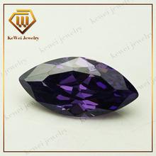 Wuzhou round gemstone supplier cubic zirconia gemstone round
