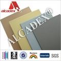 Alcadex 4mm pvdf recubrimiento exterior de panel compuesto de aluminio( acp)