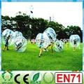 Hola promoción de alta calidad de eventos loco pvc 1.2m/1.5m/tpu bolainflable de la burbuja de alquiler traje de hámster humanos bola de tamaño