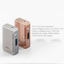 hot e cig digital mod variable watt Kamry 20W mini box mod mechanical Mic USB port vv vw vapor starter kit electronic cigarettes