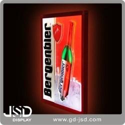 Advertising light up glass LED back light photo frame