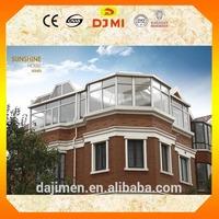 High quality sun room with reasonable price aluminum alloy sunhouse SU-5
