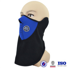 wholesale blue red black neoprene half face cover ski winter drive protective custom made half mask designs