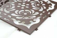 decorative CNC cutting panel curtain,lightweight construction material