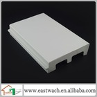 Sime-matter white PVC foam molding exterior