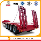 Railway vehicle/truck transporting low bed semi trailer for sale