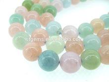 new product 2015 fashion jewelry loose gemstone 10mm beads beryl bulk rare precious stone