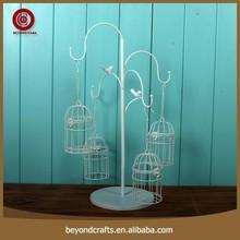 Multi size custom white decoration wedding bird cage