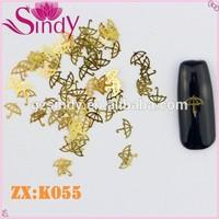 Golden K Metal Sheet Nail Accessories Umbrella Decorating Nail Seal