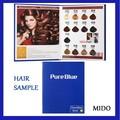 Hecho de alta calidad de color de pelo de la materia prima pura azul permanente tinte para el cabello
