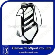 "White 9"" PU Golf Bag Manufacturer"