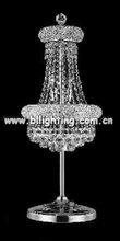led table light crystal candelabra table lamp