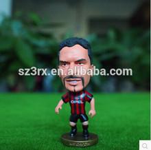 3d plastic football player toy,3d mini football player toy,custom football player action figures