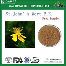 Supply natural Hypericin 0.3% St.Joh% St.john' wort extract 0.3% food addictive