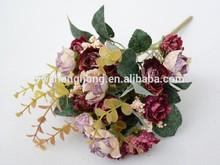 artificial flower display racks , lavender artificial flower , artificial velvet rose flower