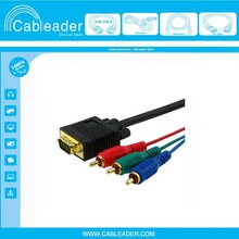 High quality cable vga rca 1.5m 3m 5m manufacturer&supplier&exporter