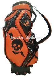 special color mixing unique shape staff golf bag golf caddy bag