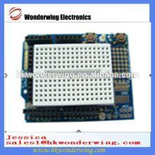 ProtoShield Prototype extension board with mini bread board for Arduino uno