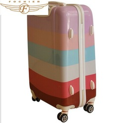 FOCHIER New product Cute Kids rolling luggages