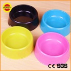 blue/purple/coffee/yellow round plastic dog bowl for custom