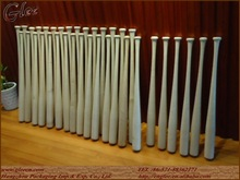 Mini wood baseball bats wholesale full size