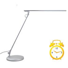 Simple Elegant nickel table lamp or bedside nightstand lamp
