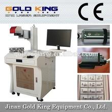 High Speed GK-F10W/20W fiber laser marking machine,metal laser marking machine