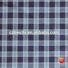 15/16 cotton fabric big checks in china