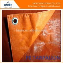 high quality best seller orange hdpe tarpaulin rolls