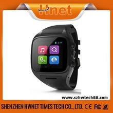 Hnet Android 4.2 OS 3G GPS WIFI Bluetooth watch phone for sale with Heart Rate Monitor
